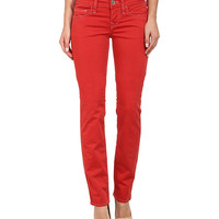 True Religion Kayla Regular Jeans in Shiny Red Shiny Red - 6pm.com