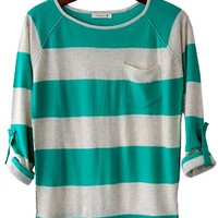 Coastal Road Trip Sweater, Teal - Conversation Pieces