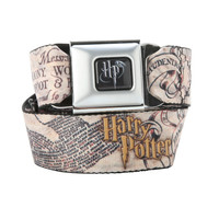 Harry Potter Marauders Map Seat Belt Belt