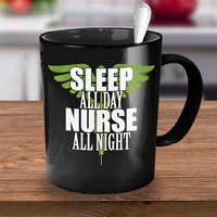 Nurse Gift Mug Nightshift nurse