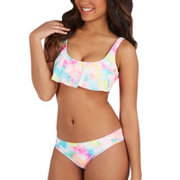 ModCloth Kaleidoscope the Scene Swimsuit Top