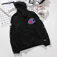 Champion Fashion Top Sweater Pullover Hoodie Sweatshirt