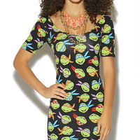 Ninja Turtles Bodycon Dress | Wet Seal