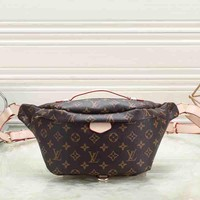 Louis Vuitton Women Shopping Leather Purse Waist Bag Single Shoulder Bag Crossbody