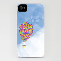 ADVENTURE IS OUT THERE! iPhone & iPod Case by Rebecca Allen
