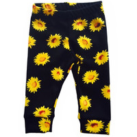 Sunflowers Leggings, Baby Leggings, Toddler Leggings, Girl Leggings, Boy Leggings, Child Leggings, Leggings