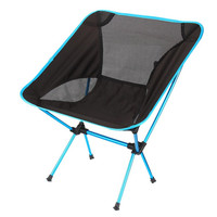Ultralight Portable Folding Camping Chairs Backpacking Beach Chairs with Carry Bag