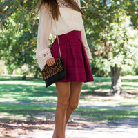 Sweet Treat Skirt, Magenta