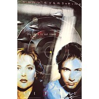 """Poster: X-Files Mulder and Scully (23""""x35"""")"""