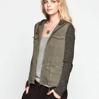 OTHERS FOLLOW Breakup Womens Twill/Fleece Jacket | Jackets