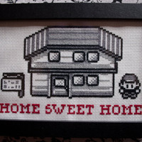 CrossStitch Pattern - Pok?mon Gameboy Sampler PDF by lithy on Etsy