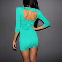 Party Evening Sleeve Club-wear Sexy Tunic Dress [10]