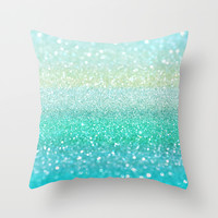 Tidal Wave Throw Pillow by Lisa Argyropoulos