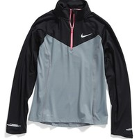 Girl's Nike 'Element' Dri-FIT Half Zip Pullover