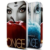Once Upon a Time Lady Eyes Custom Flip Cover for Iphone (Flip Cover Iphone 6)