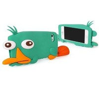 Cute 3D Dully Duck Soft Silicone Gel Back Case Cover for iPhone 4/4S