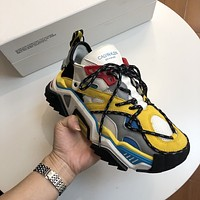 Calvin Klein CK Woman's Men's 2020 New Fashion Casual Shoes Sneaker Sport Running Shoes