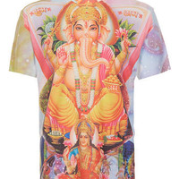 Ganesh Front Print T-Shirt - New In