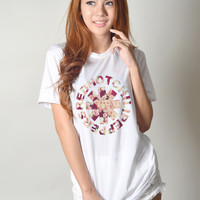 Red Hot Chili Peppers Shirt Teenager Women Fashion Instagram Hipster Tumblr Swag Dope Outfit Tee Shirts