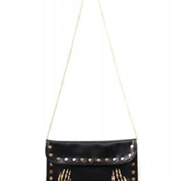 Double Trouble Die My Darling Clutch Handbag