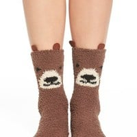 PJ Salvage 'Bear' Socks | Nordstrom
