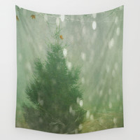 Winter Wall Tapestry by Olivia Joy StClaire