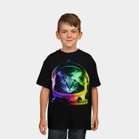 Astronaut Cat T Shirt By Clingcling Design By Humans
