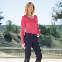 Piper Breech with Modified Rise Knee Patch by SmartPak - Sale!