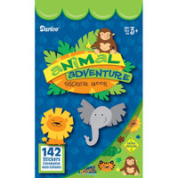 ConsumerCrafts Product Kids Sticker Book: Animal Adventure Stickers