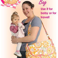 Me & My Baby Diaper Bag Pattern