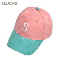 Men Women Strapback Snapback Baseball Cap Adjustable Trucker Curved Hat Women Men Faux Suede Brim Plain Blank Snapback Cap SN9