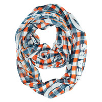 Chicago Bears Infinity Scarf - Plaid