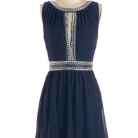 ModCloth Mid-length Sleeveless A-line Return to Splendor Dress