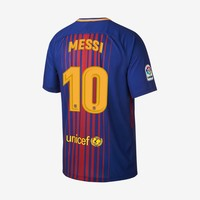 Barcelona 2017-18 Home Jersey - Lionel Messi