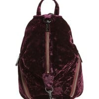 Rebecca Minkoff Julian Velvet Backpack | Nordstrom
