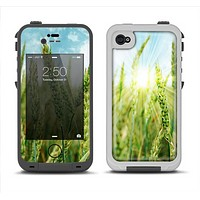 The Sunny Wheat Field Apple iPhone 4-4s LifeProof Fre Case Skin Set