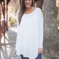 Born To Fly Top, White