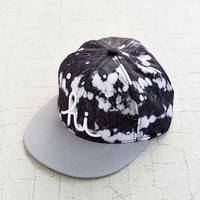 In4mation Bleach Bum Snapback Hat- Black Multi One