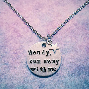 All Time Low Wendy Run Away With Me Necklace