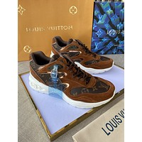 lv louis vuitton womans mens 2020 new fashion casual shoes sneaker sport running shoes 185