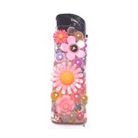 kawaii decoden bling refillable lighter
