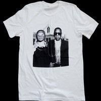 Beyonce & Jay-Z T-shirt - Pop Art - American Gothic Mash-Up Tee - Unisex - by American Anarchy Brand