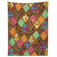 Aimee St Hill Patchwork Paisley Orange Tapestry