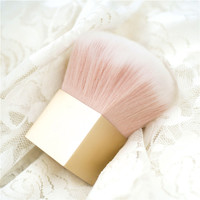 1pcs Golden Blusher Brush Face Powder Brush Makeup Brush Tool