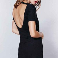 Truly Madly Deeply Open-Back T-Shirt Dress-