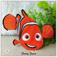 Disney Finding Nemo Iron on Patch 128-H