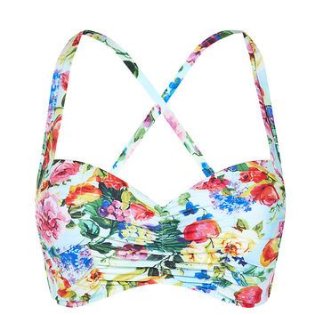 Seafolly Summer Garden Convertible Bikini Top | Harrods