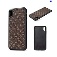LV Louis Vuitton Hot Sale Women Men Mobile Phone Cover Case For iphone 6 6s 6plus 6s-plus 7 7plus 8 8plus X XsMax XR 9#