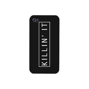 Killin' It Funny Phone Case Cute Graphic Design Printed Phone Cover
