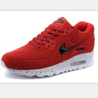 NIKE AIR MAX Women Man fashion sneaker sports shoes red-black hook colorful starry sky soles H-MDTY-SHINING-1